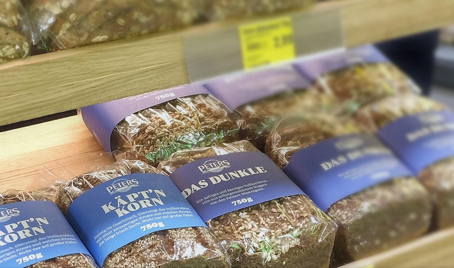 Geht weg wie geschnitten Brot: Käpt'n Korn & Co in unserem Brotregal bei Edeka.