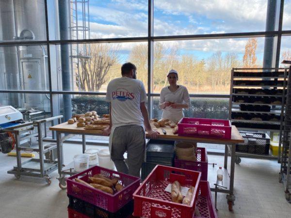 Produktentwicklung Brot in der Backstube auf Rügen Bäckerhandwerk